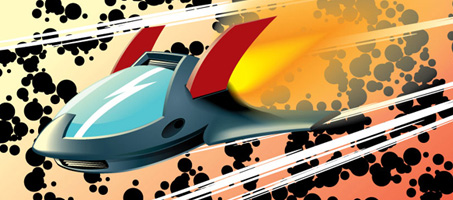 How to Create a Rocketing, Vector Aircraft Shuttle