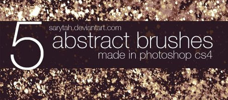 5 great dirt grunge abstract Photoshop brushes