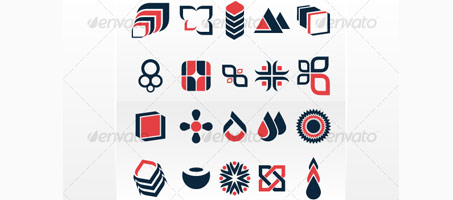 Logorado's Great Logo Designer Symbols Set vectors