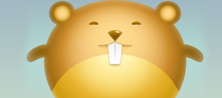 Design a Cute Hamster Avatar Using Illustrator