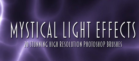Mystical Light Effects: High Resolution Brushes