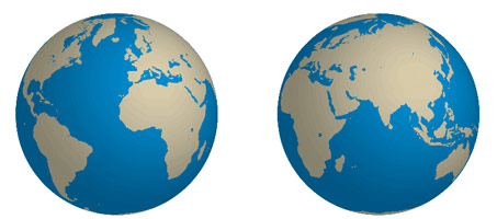 Create a Rotatable Globe Using Adobe Illustrator