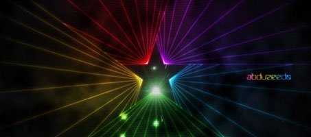 Design An Easy Colorful Star Light in Photoshop