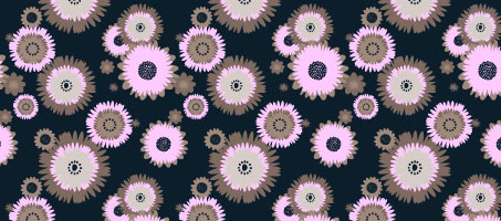 How to Make a Foolproof Flowery Wallpaper Pattern