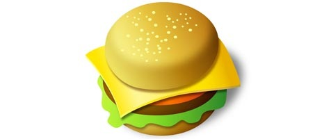 Create a Tasty Looking Burger Icon Using Illustrator