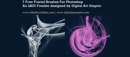 7 Free Stunning Fractal Brushes For Photoshop