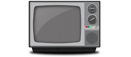 Create a Detailed Vintage Television Icon in Photoshop
