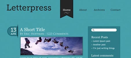 Make an Elegant and Simple Blog Web Layout Using Photoshop