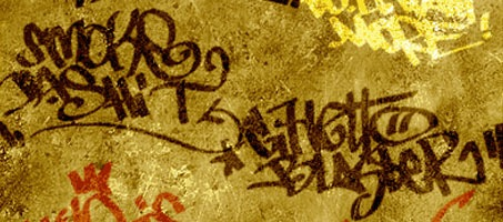 The krako A Free Photoshop Graffiti Design Brush Set