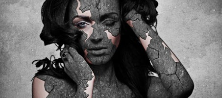 Grunge Stone Woman Photo Manipulation in Photoshop photoshop favourites 