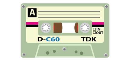 How To Create A TDK Cassette Tape Design