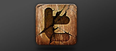 Create a Wooden Social Media Icon Quickly with Photoshop