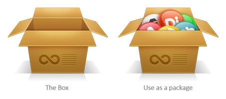 Create a Cardboard Box Icon using Photoshop