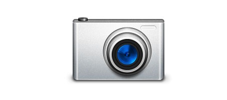 Creating An Digital Camera Icon Using Photoshop