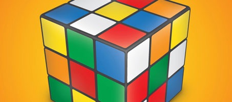 How to create a Rubik's Cube using Illustrator