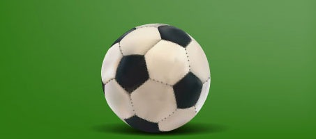 High Quality Soccer Ball Vector Freebie Design