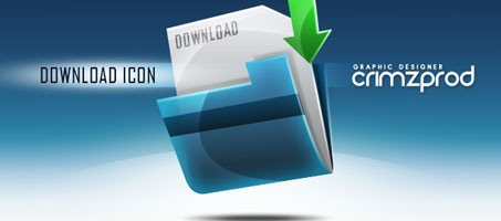 Create a Download Folder Icon using Photoshop