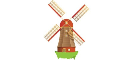 How To Create A Beautiful Windmill Illustration Using Illustrator