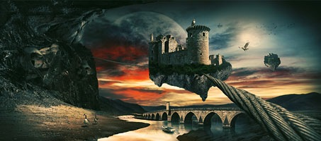 Create a Surreal Landscape Using Photo Manipulation