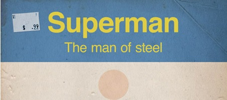 How To Create a Retro Style Superman Book Cover photoshop