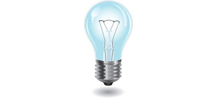 Create a Semi Realistic Light Bulb in Adobe Illustrator illustrator