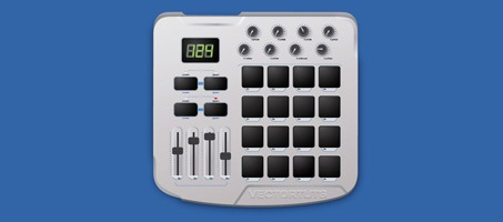 Create a MIDI Drum Machine using Illustrator