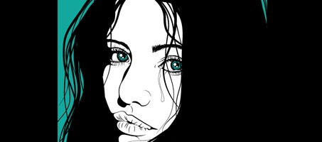 Creating a Dramatic Portrait with Chunky Line Art