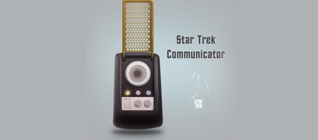 Create a Star Trek Style Communicator in Photoshop