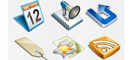 Exclusive Freebie Vector Pack – Bloggers Icon Set