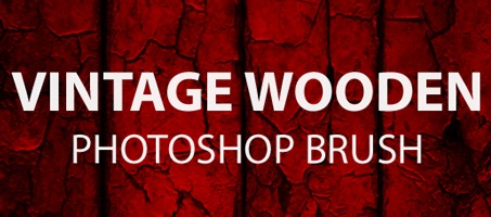 Vintage Wooden Free Photoshop Brush Set