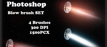 Photoshop Free Space Blow Brush
