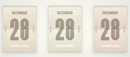 Create a Vector, Daily Flip Calendar Using Illustrator
