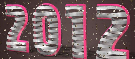 3D Ribbon Wrapped Photoshop Text Effect