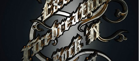 Create a Metallic Type Treatment Using Photoshop photoshop