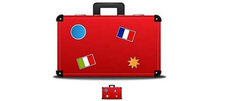 Create a Travellers Suitcase Icon in Illustrator