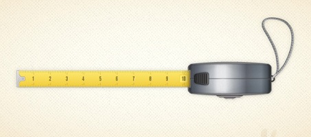 Create a Vector Tape Measure in Illustrator CS5 illustrator