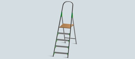 How to Illustrate a Stepladder in Illustrator