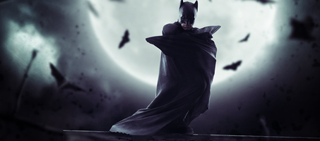 Create a Night Batman Photoshop Manipulation