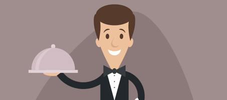 How to Create a Simple Cartoon Waiter in Adobe Illustrator