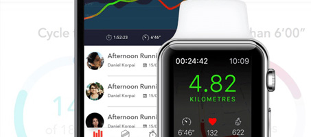 Designing an iOS Fitness Application