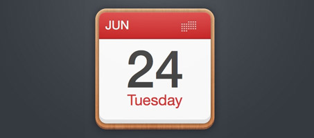 Create a Calendar Icon