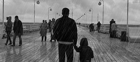 Add Dramatic Rain to a Photo