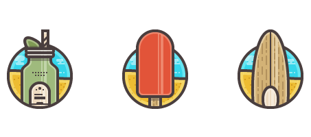 How to Create a Summer Icon Pack
