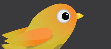 Create Vector Twitter bird in 5 steps