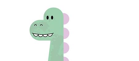 How To Create a Cute Dinosaur Character