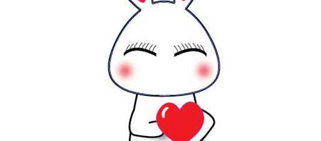 Valentine's Adorable Bunny