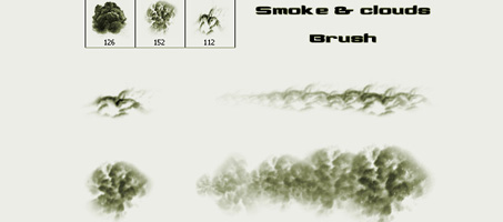 Awesome Photoshop Smoke and Clouds Brush | Design Chair
