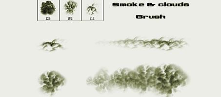 smoke-clound-brush