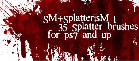 blood-splatter-brush