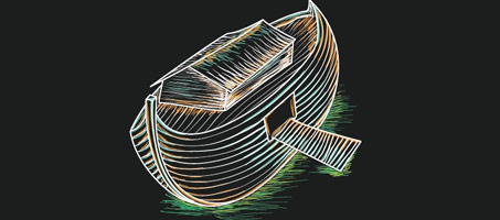 Illustrator Tut: Sketching a Boat with Graphics Tablet